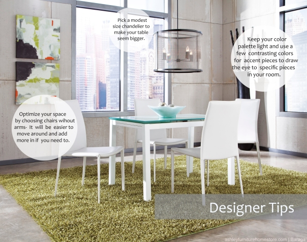Maximizing Your Space In a Small Dining Room